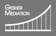 Gesher Mediation Logo